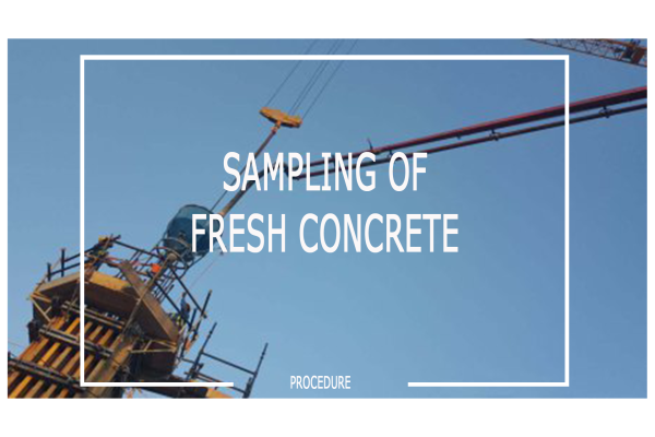 sampling of fresh concrete - BS EN 12350-1:2009
