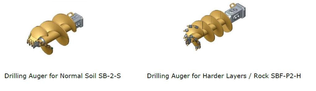 Drill Auger-Method Statement for Construction of Bored Piles