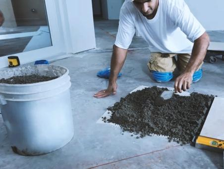 floor-tiles-semi-dry-mix-procedure
